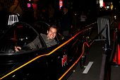 LOS ANGELES - MAR 21:  Antonio Sabato Jr. in the Batmobile at the Batman Product Line Launch at the