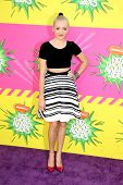 LOS ANGELES - MAR 23:  Peyton List arrives at Nickelodeon's 26th Annual Kids' Choice Awards at the U