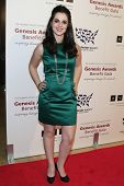 BEVERLY HILLS - MAR 23: Vanessa Marano at  the 2013 Genesis Awards Benefit Gala at The Beverly Hilto