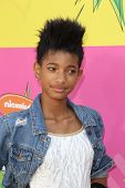 LOS ANGELES - MAR 23:  Willow Smith arrives at Nickelodeon's 26th Annual Kids' Choice Awards at the