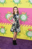 LOS ANGELES - MAR 23:  Kiernan Shipka arrives at Nickelodeon's 26th Annual Kids' Choice Awards at th