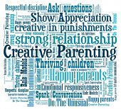 foto of role model  - Creative Parenting n word collage - JPG