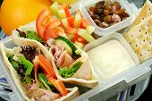 stock photo of lunch box  - Healthy kid - JPG