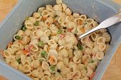 Making Macoroni Salad