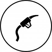 gas pump hose symbol