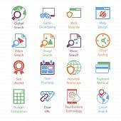 Color Internet Marketing Icons Vol 3