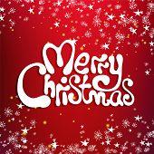 Merry christmas congratulation card