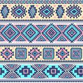 Tribal vintage ethnic pattern seamless