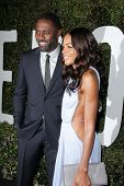 LOS ANGELES - NOV 11:  Idris Elba, Naomie Harris at the