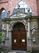 Swedish Church Door