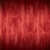 Red Planks Background