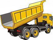 Dump Truck Back