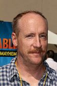 LOS ANGELES - APR 11:  Matt Walsh at the Despicable Me Minion Mayhem  and Super Silly Fun Land at Un
