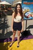 LOS ANGELES - APR 11:  Lyndon Smith at the Despicable Me Minion Mayhem  and Super Silly Fun Land at
