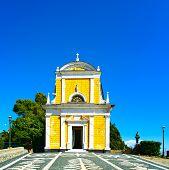 Portofino, San Giorgio Catholic Church Landmark. Liguria, Italy