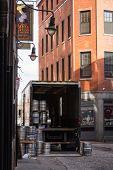 Boston, MA - December 30, 2013 - Bell In Hand Tavern