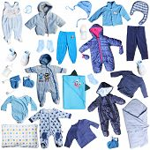 blue clothes for baby boy