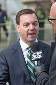 Tim Hudak at Jim Flaherty State Funeral In Toronto, Canada
