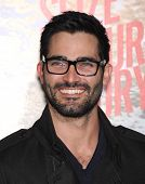 LOS ANGELES - MAR 04:  Tyler Hoechlin arrives to the
