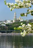 Kiev spring, view of the Lavra