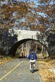 Biking in Acadia National Park
