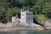 foto of dartmouth  - Kingswear castle by the River Dart, Devon