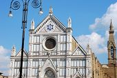 The Basilica Of Santa Croce In Florence - Tuscany - Italy 516