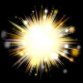 Golden Solar Burst