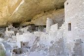 Cliff Palace Dwelling at Mesa Verde National Park