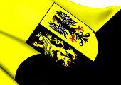 Flag Of Vogtlandkreis