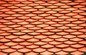orange Roof of Wat Phra Keaw,