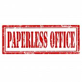 Paperless Office-stamp