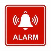 Ringing bell icon. Alarm icon.