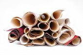 wallpaper rolls texture