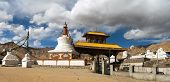 foto of jammu kashmir  - Stupas and Friendship Gate in Leh  - JPG