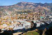 Martadi Town Or Village - Bazaar In Western Nepal