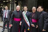 Grand Marshal Frank Bisignano & bishops