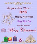 Original greetings of merry Christmas