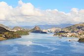 Vitoria, Vila Velha, Bay, Port, Mountains, Espirito Santo, Brazil