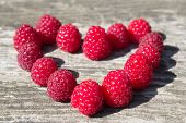 Heart Of Raspberry