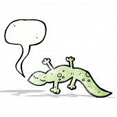 cartoon cute lizard