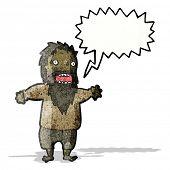 bearded man shouting