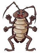 picture of cockroach  - cockroaches Editable  - JPG