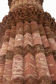 Qutb Minar Tower Close-up, Delhi, India
