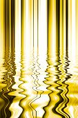 Abstract Background Of A Pattern Of Line And Water Reflection