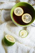 Tea With Lemon An Scarf