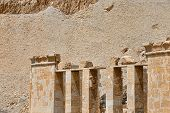 The temple of Hatshepsut near Luxor in Egypt