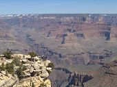 Grand Canyon Tourists Lookout Point poster