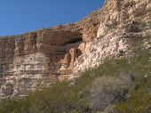 Montezuma Castle National Park Arizona