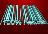 foto of drow  - 100 percent Natural barcodes drow as backgraund - JPG
